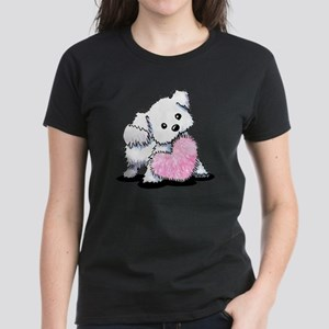 Heart & Soul Puppy Women's Dark T-Shirt